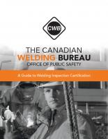 A Guide to Welding Inspection Certification