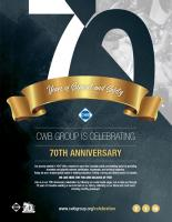 CWB 70th Anniversary - Celebration