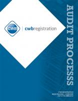 CWB Registration - Audit Process
