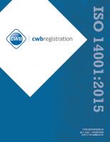 ISO 14001:2015 - Environmental Management