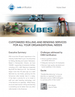 CWB Certification Case Study: Kubes Steel