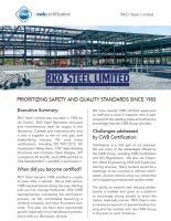 CWB Certification Case Study: RKO Steel