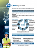 ISO 45001:2018 - Occupational Health and Safety