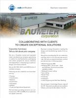 CWB Certification Case Study: Baumeier Corporation