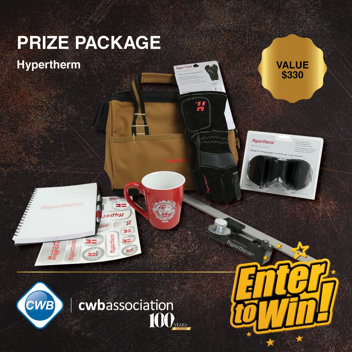 Hypertherm Prize Package